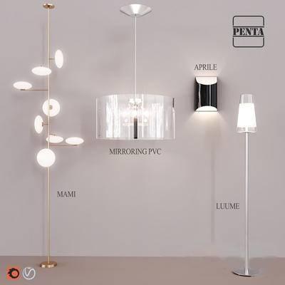 现代, 吊灯, 灯饰, corona