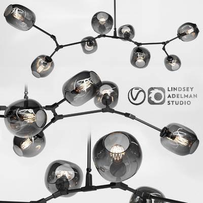2000套国外模型, 现代, 吊灯, 灯饰