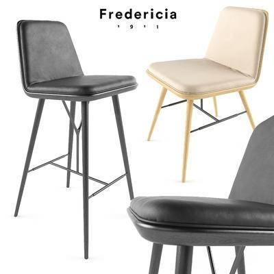 2000套高精3D单体模型, 现代, 吧椅