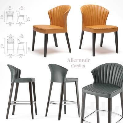 2000套国外模型, 现代, 吧椅