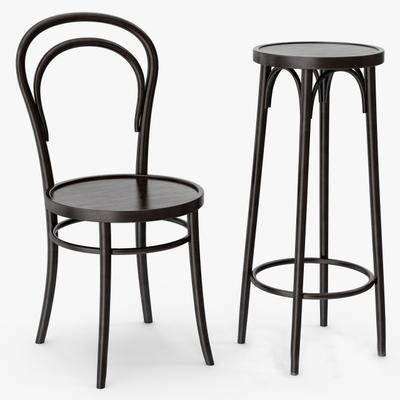 2000套高精3D单体模型, 现代, 吧椅, 吧凳