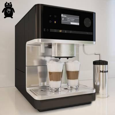 2000套高精3D单体模型, 现代, 咖啡机, 电器