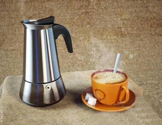 2000套国外模型, 现代, 咖啡杯, 咖啡壶