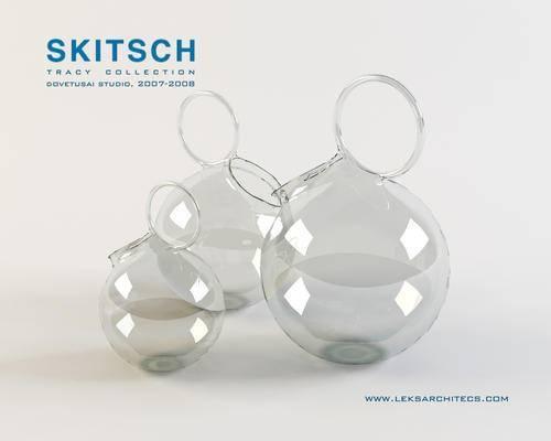 2000套高精3D单体模型, 现代, 器皿, 摆件, 玻璃器皿