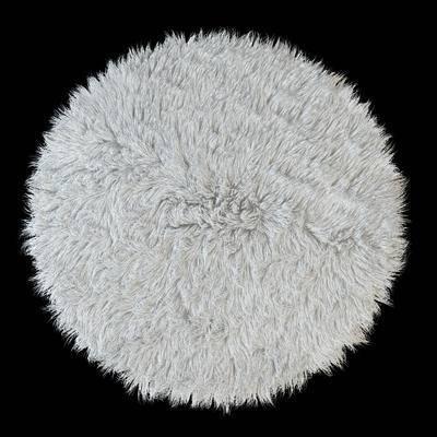 现代, 地毯, 圆形地毯