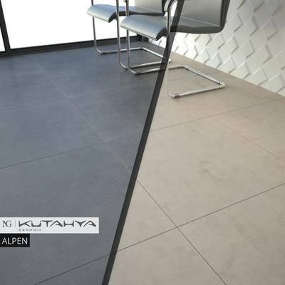 下得乐品牌模型库, 现代, 地板