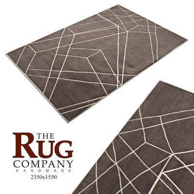 现代, 方形地毯, 地毯