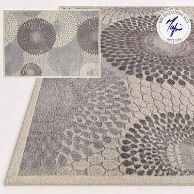2000套国外模型, 现代, 地毯, 方形