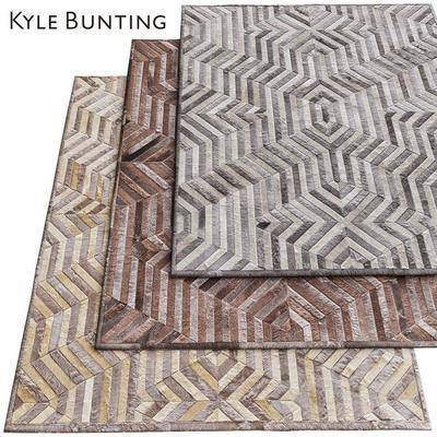 2000套国外模型, 现代, 地毯, 方形地毯