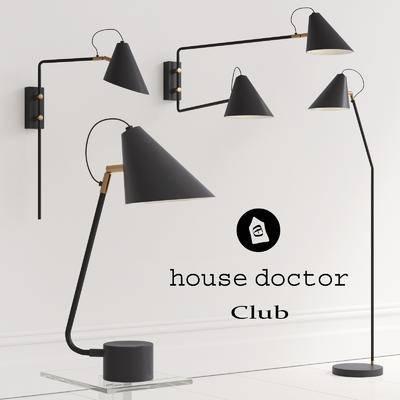 2000套高精3D单体模型, 现代, 壁灯, 灯饰
