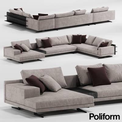 现代, 多人沙发, 沙发, 转角沙发
