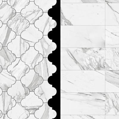 下得乐品牌模型库, 现代, 大理石地板