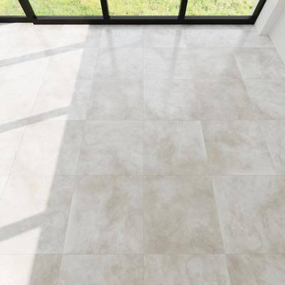 下得乐品牌模型库, 现代, 大理石地板, 地板, 大理石