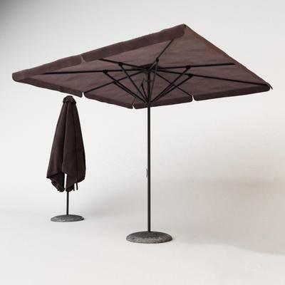 下得乐品牌模型库, 现代, 太阳伞