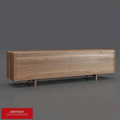 现代, 实木, 实木电视柜, 电视柜