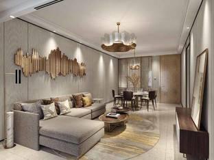 现代客厅3D模型6_3d模型