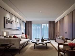 现代客厅3D模型_3d模型