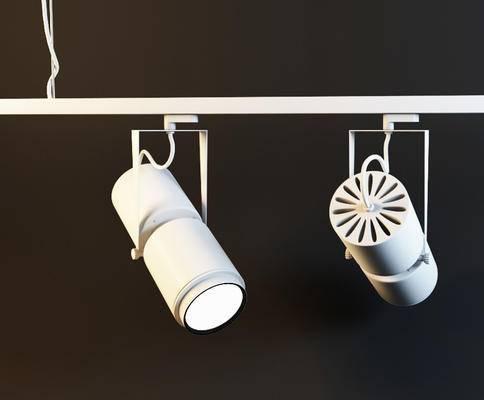 2000套高精3D单体模型, 现代, 射灯, 灯饰