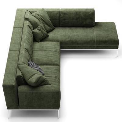 现代, 转角沙发, 多人沙发