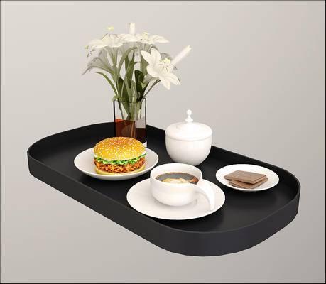 2000套高精3D单体模型, 现代, 摆件, 食物