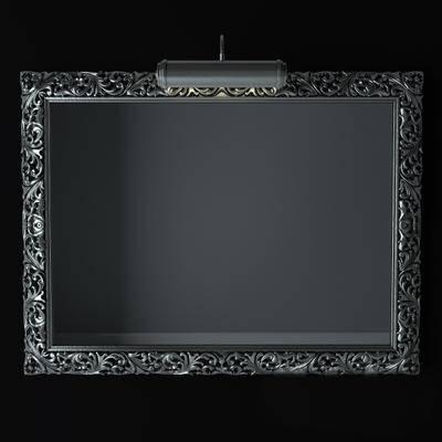 2000套国外模型, 现代, 挂壁镜, 镜子
