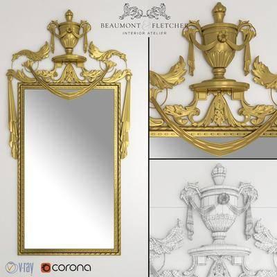 2000套国外模型, 现代, 挂壁镜