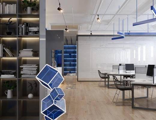 现代, 办公室, 会议室
