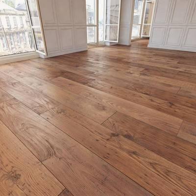 下得乐品牌模型库, 现代, 地板, 木质地板, 木地板