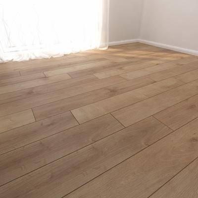 下得乐品牌模型库, 现代, 木地板, 木质地板