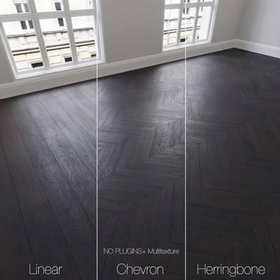 下得乐品牌模型库, 现代, 木地板, 木质地板, 地板