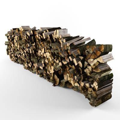 下得乐品牌模型库, 现代, 木堆