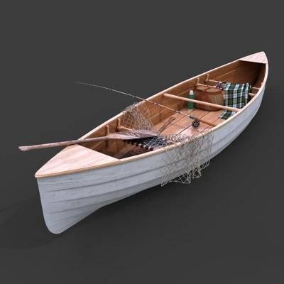 2000套国外模型, 现代, 木船