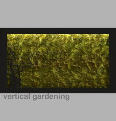 2000套高精3D单体模型, 现代, 植物墙, 背景墙, 植物, 绿植