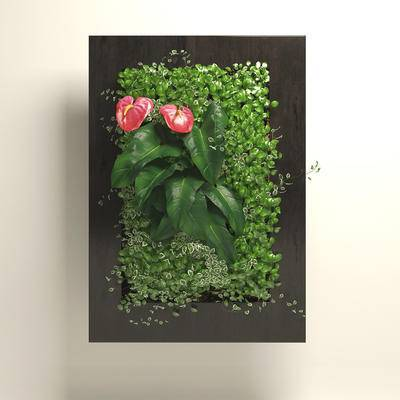 2000套高精3D单体模型, 现代, 植物墙, 背景墙, 植物