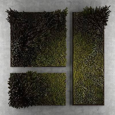 2000套高精3D单体模型, 现代, 植物墙, 植物