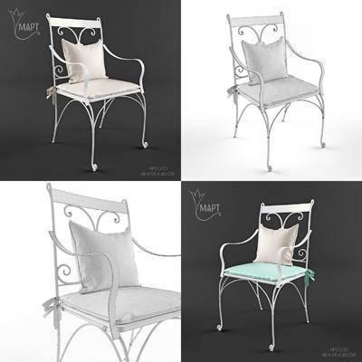 2000套高精3D单体模型, 欧式, 户外椅