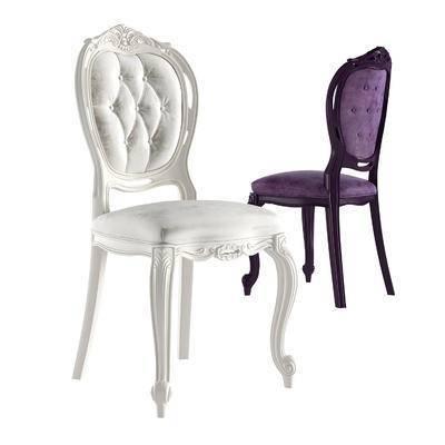 2000套高精3D单体模型, 欧式, 椅子, 单椅