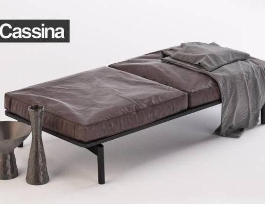 下得乐品牌模型库, 现代, 沙发凳