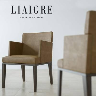 下得乐品牌模型库, 现代, 沙发椅, 单椅