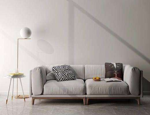 下得乐2019季千套模型, 现代, 沙发组合, 单椅组合