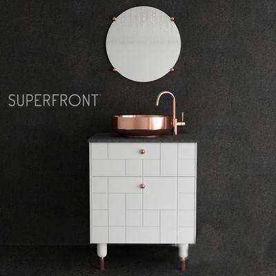 下得乐品牌模型库, 现代, 洗手台