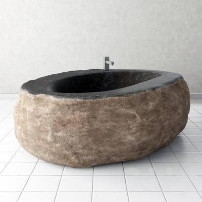 2000套高精3D单体模型, 现代, 浴缸