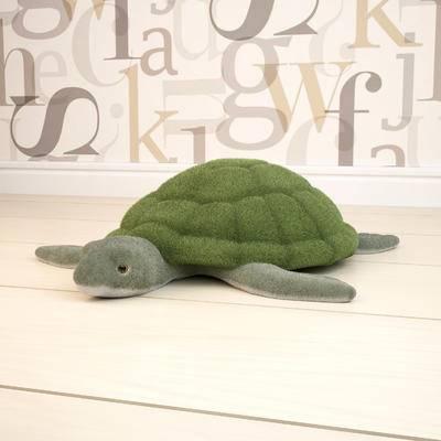 2000套高精3D单体模型, 现代, 海龟抱枕, 抱枕