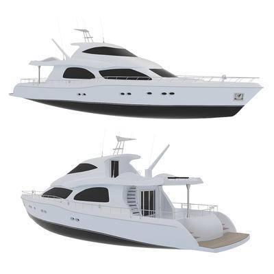 2000套国外模型, 现代, 游艇