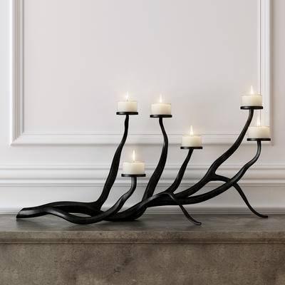 2000套高精3D单体模型, 现代, 烛台等, 装饰灯, 灯饰