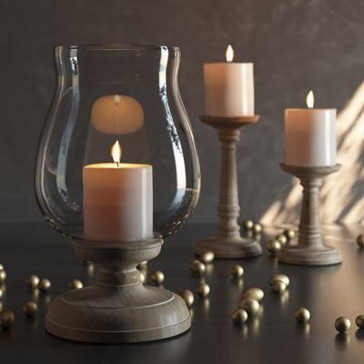 2000套高精3D单体模型, 现代, 烛台等, 装饰灯, 台灯, 灯饰