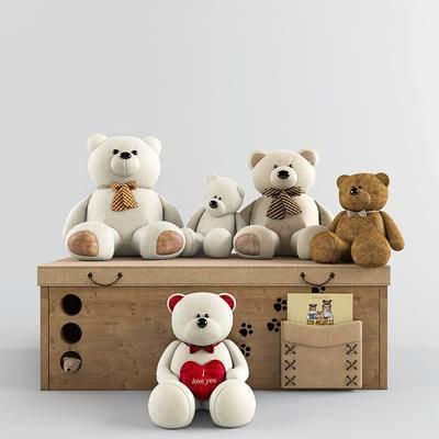 现代, 熊玩偶, 玩偶