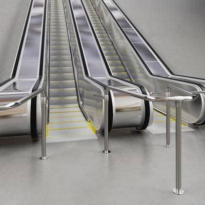 2000套高精3D单体模型, 现代, 电梯, 扶梯