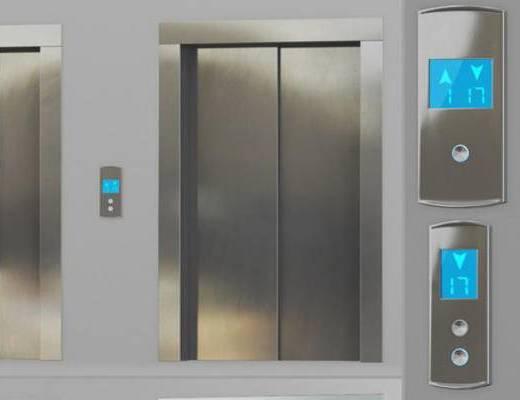 下得乐品牌模型库, 现代, 电梯