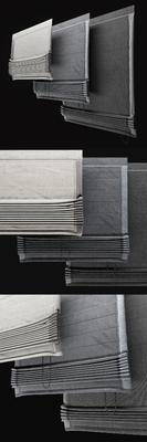 2000套国外模型, 窗帘, 现代